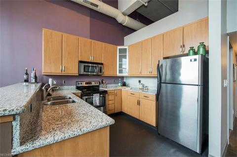Condo downtown cleveland oh kitchen American Book.jpg